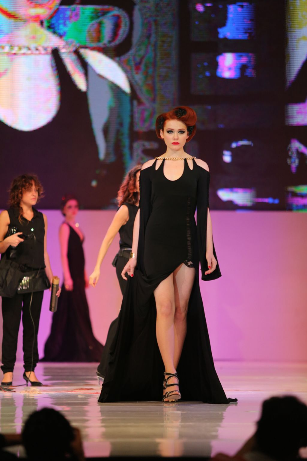 Expo Beauty Show Catwalk