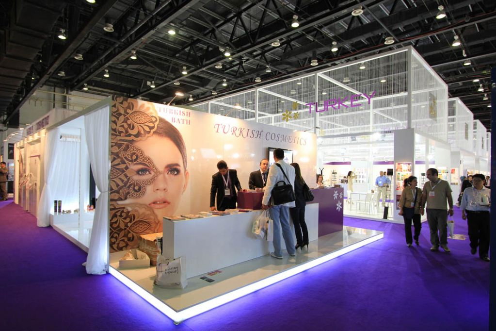 Beauty World Middle East Stand