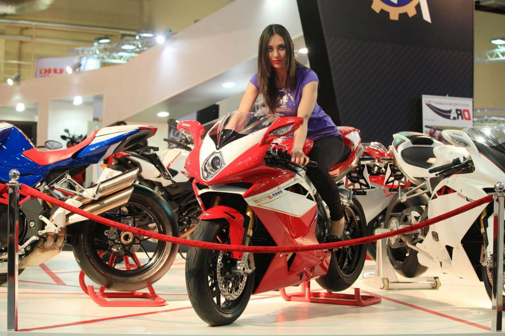 Eurasia Moto Bike Expo Stands