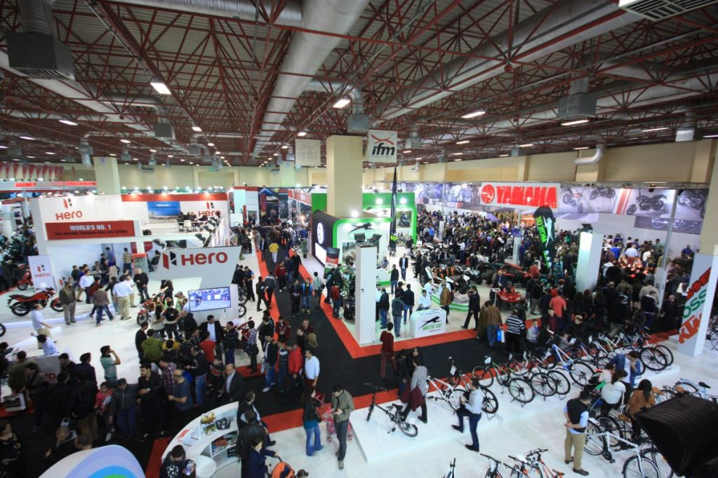 Eurasia Moto Bike Stands Exhibitionhall