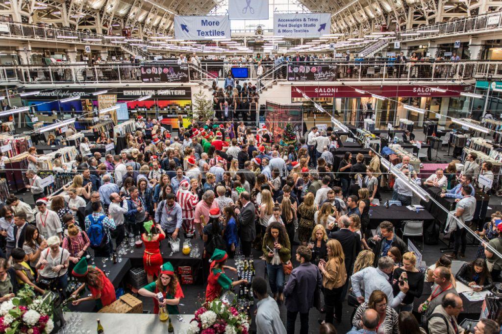 London Textile Fair Exhibition Hall2
