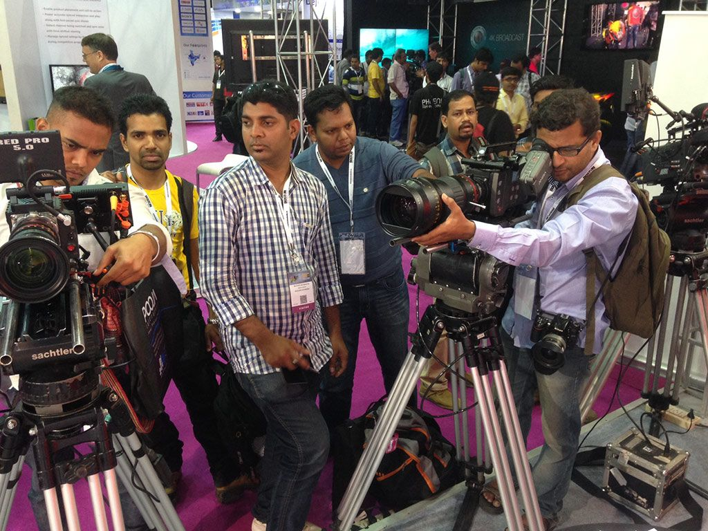 Broadcast Show India Stand Products 2