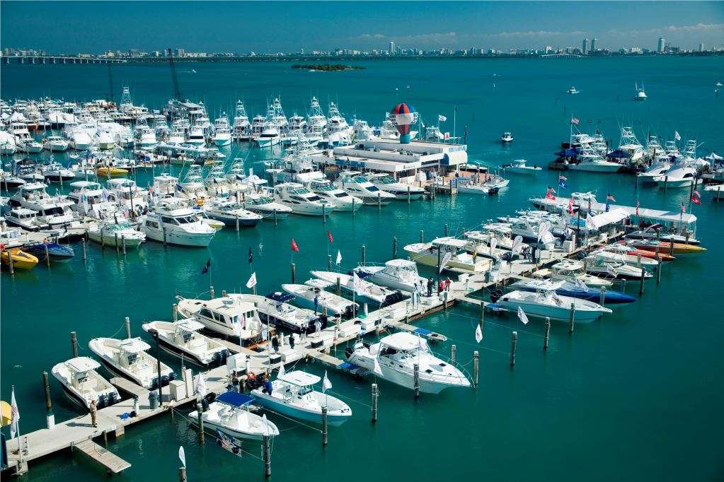 Miami International Boat Show Boats Harbor
