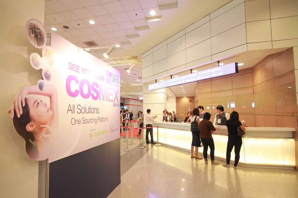 Cosmex Exhibition Stand Hall