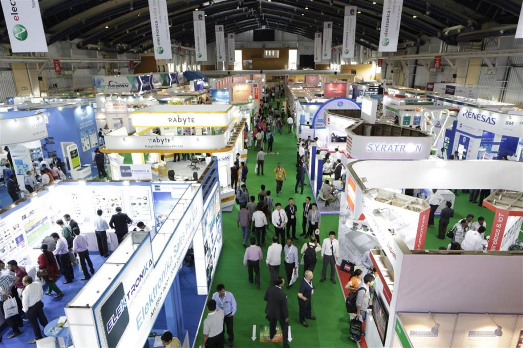 Electronica India Exhibition Hall