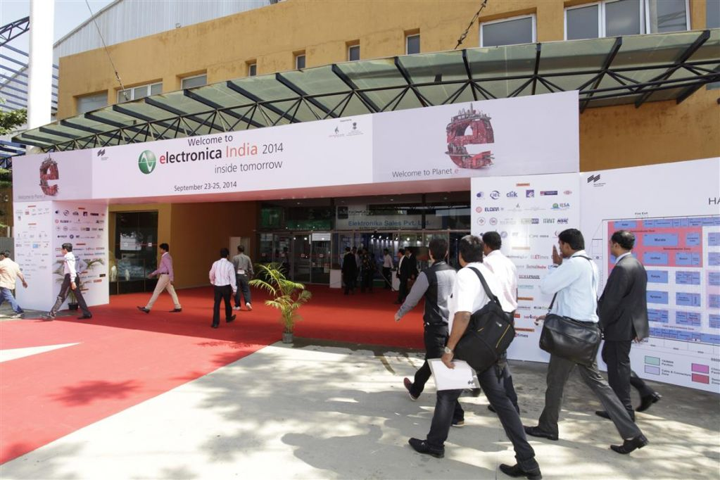 Electronica India Entrance