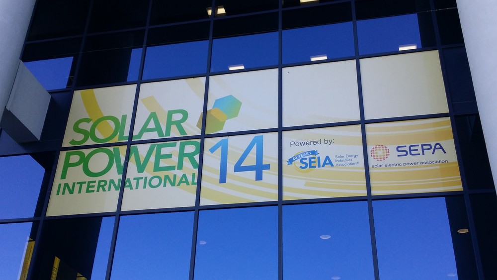 Solar Power International Entrance 1