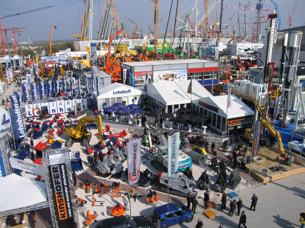 Bauma Exhibition Hall