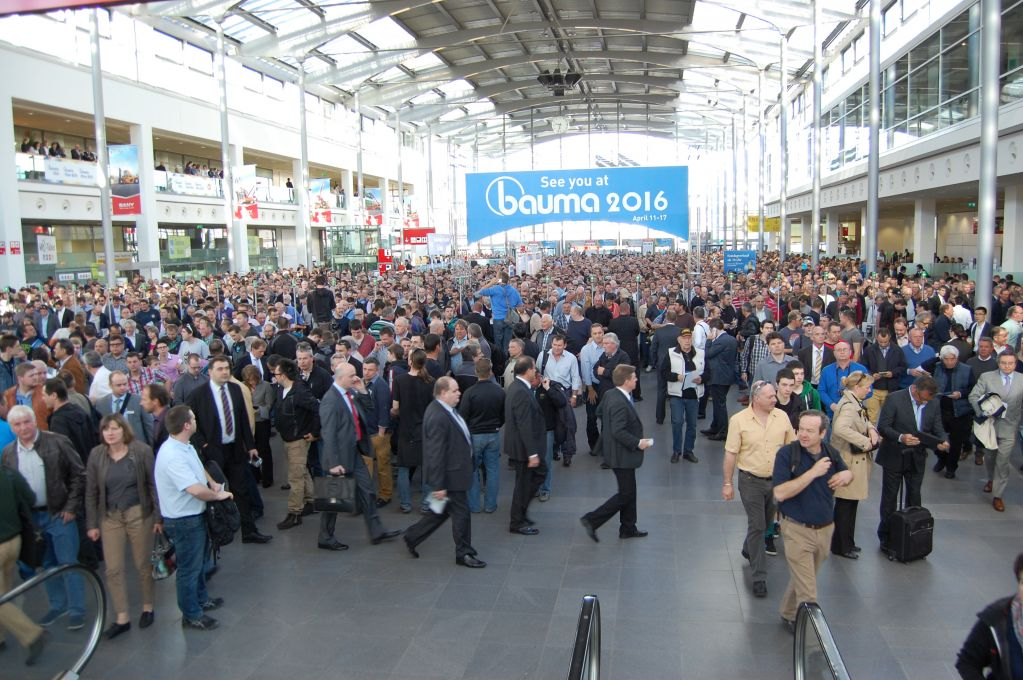 Bauma Entrance Munich