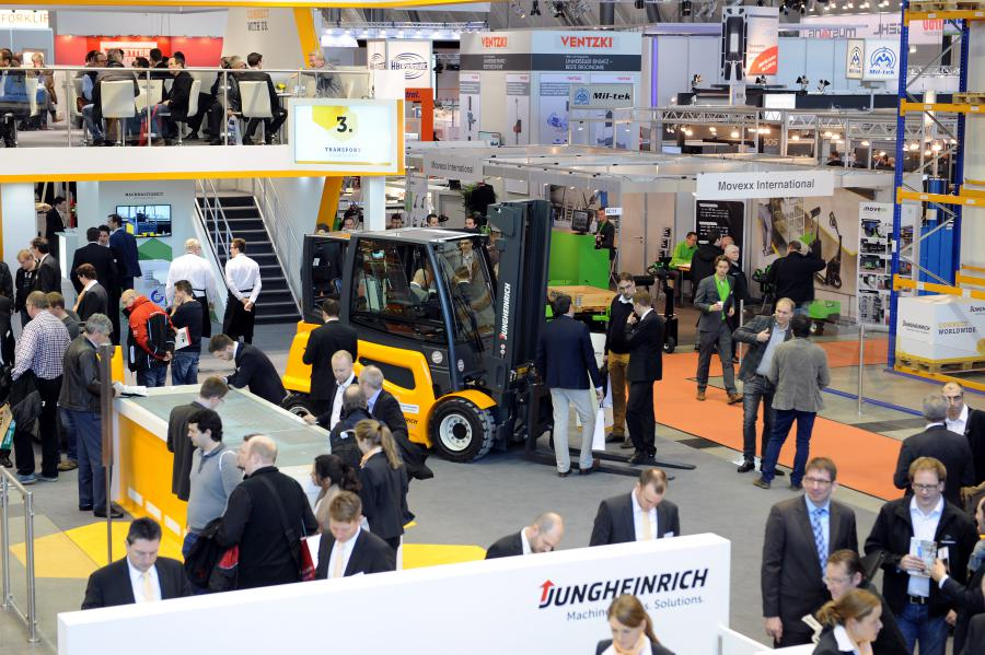 Logimat Exhibition Area