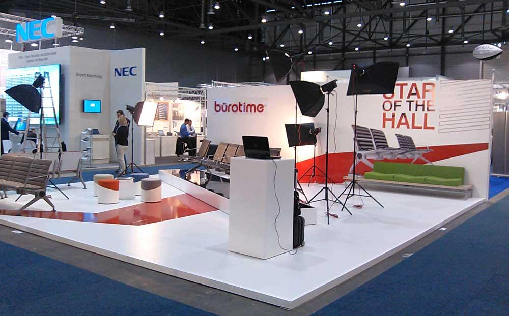 Passenger Terminal Expo Booth Design