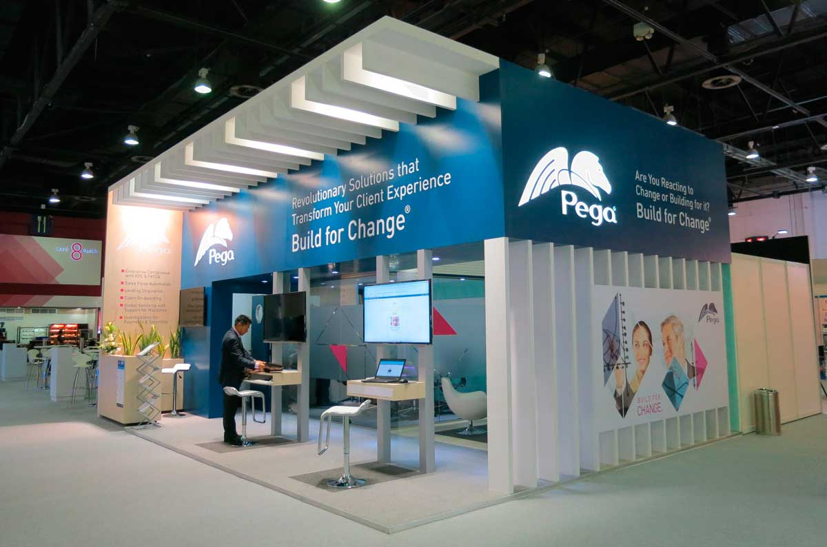 Exhibition Booth Design Singapore : Exhibit at sibos singapur