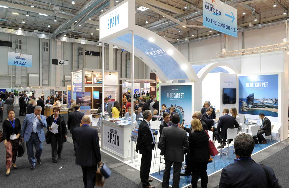 Seatrade Europe Exhibition Area