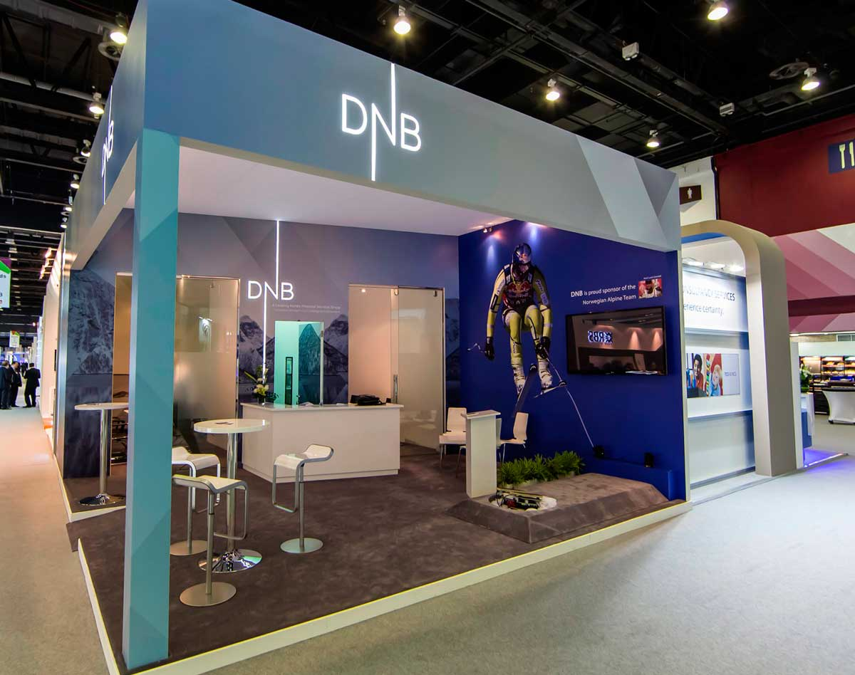 Exhibition Stand Design Companies In Dubai : Sibos