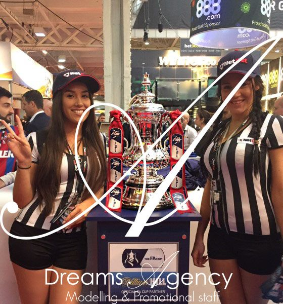 Dreams Agency Promo staff at the LAC 4