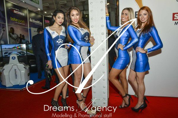 Dreams Agency Promo staff at the LAC 1