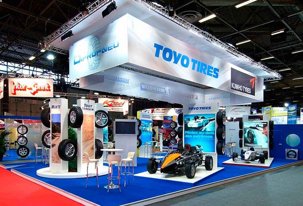 Equip Auto Paris Booth