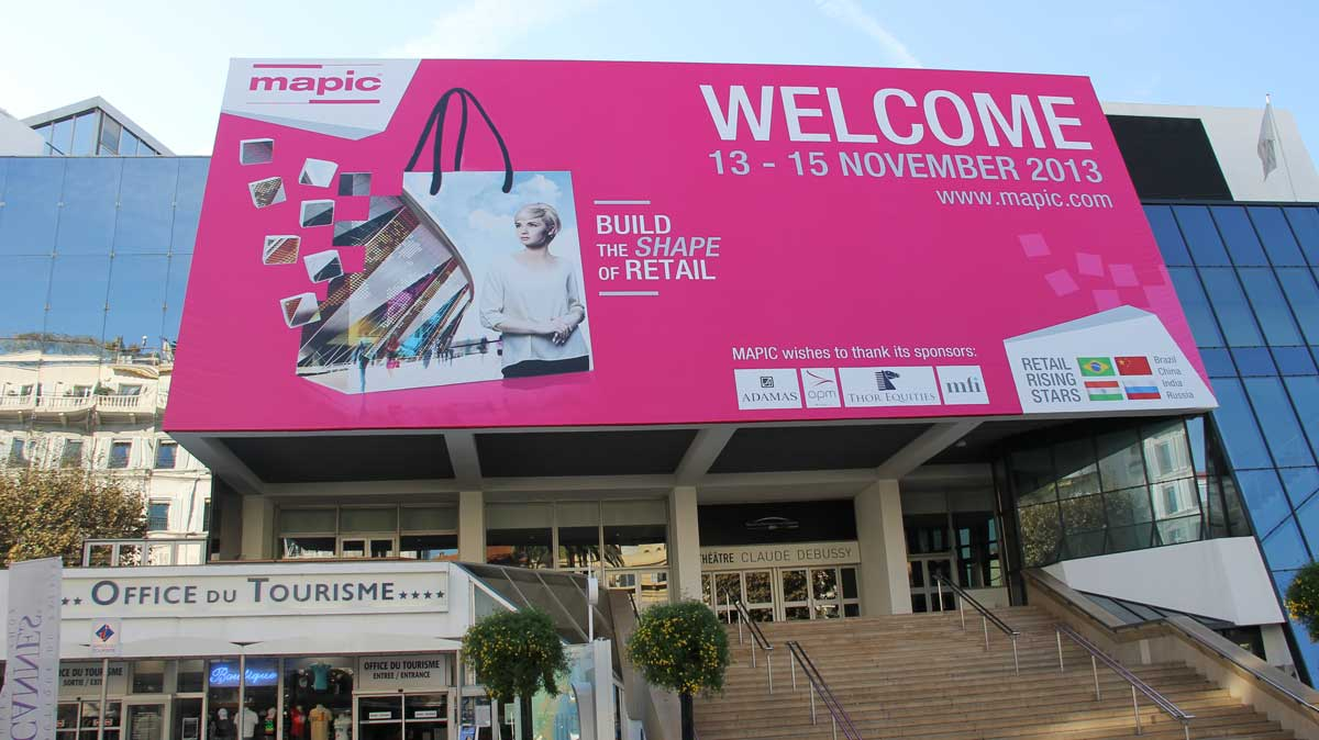 Mapic Cannes Entrance