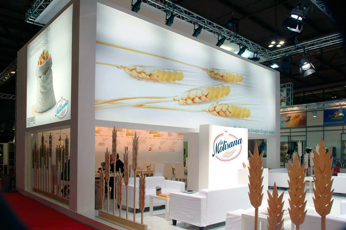 Tuttofood Exhibition Booth