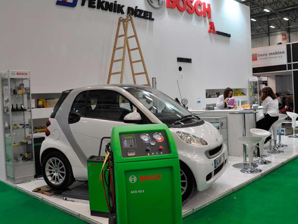 Automechanika Istanbul Booth