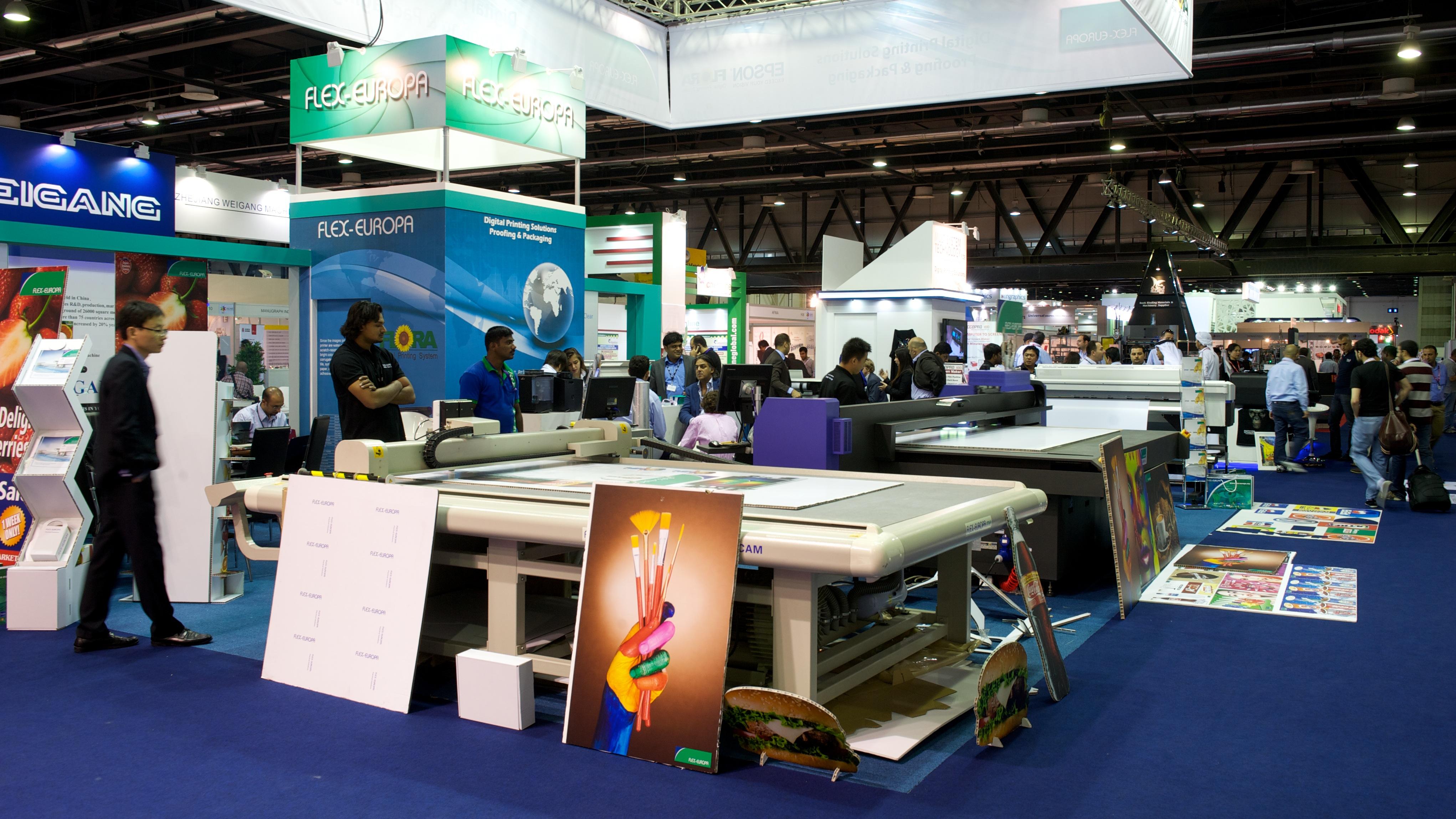 D Printing Dubai Exhibition : Gulf print pack