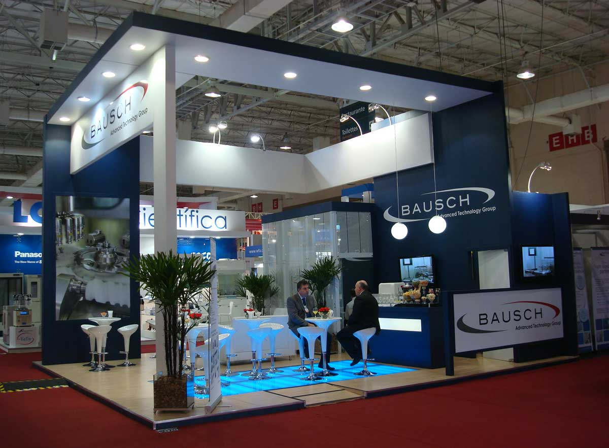 Fce Pharma Sao Paulo Booth Design
