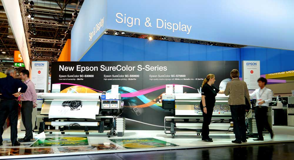 Drupa Exhition Stand