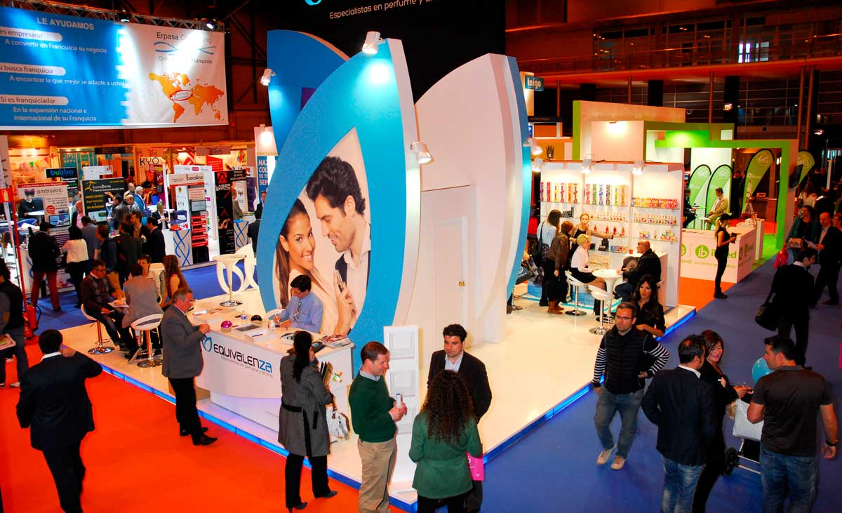 Expofranquicia Madrid Exhibition Stand