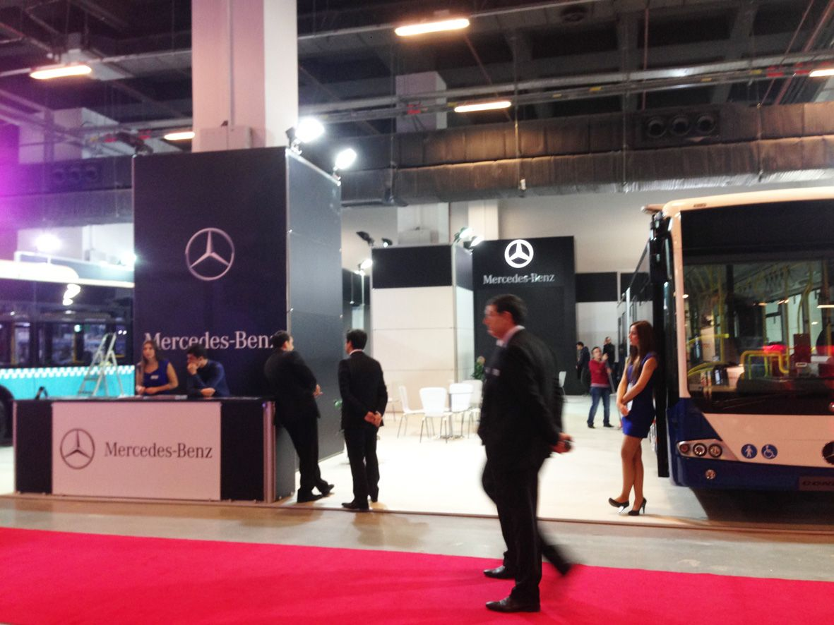 Istanbul Mercedes-Benz Stand 1