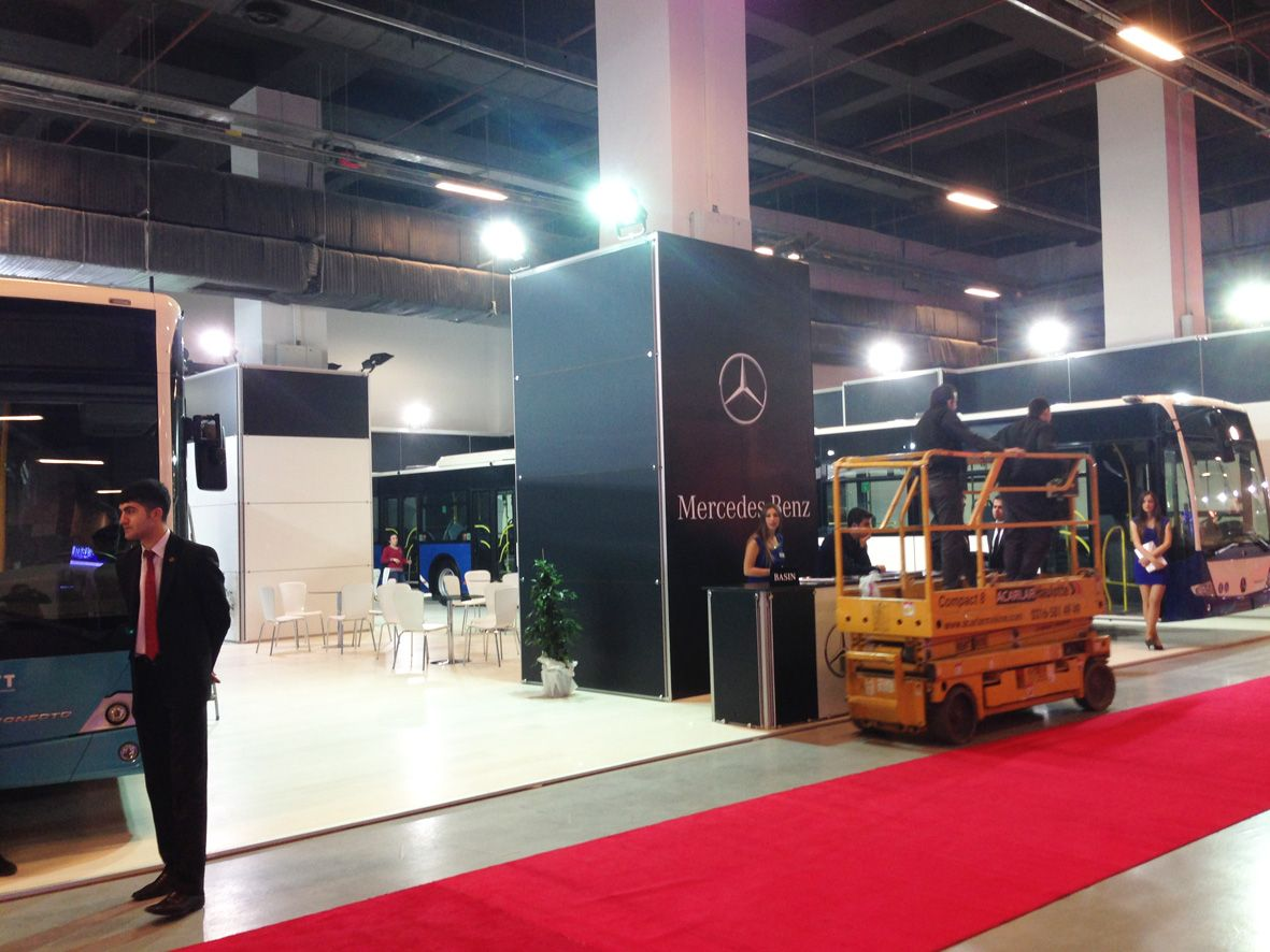 Istanbul Mercedes-Benz Stand 2