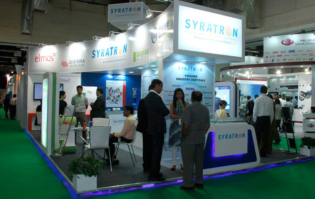 Electronica And Productronica India Booth