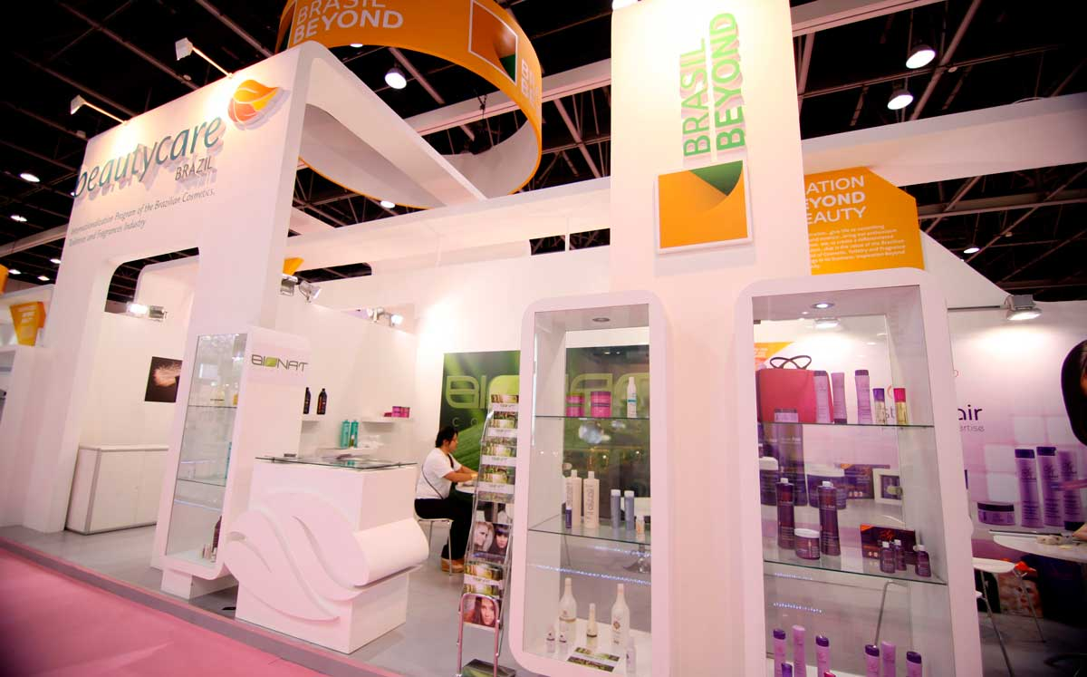 Beauty World Dubai Booth