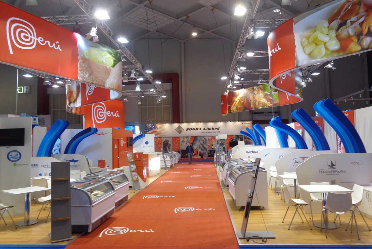 Seafood Expo Global Stand Area