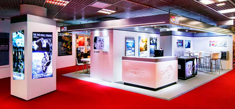 Expo Exhibition Stands Yellow : Stands in mipcom
