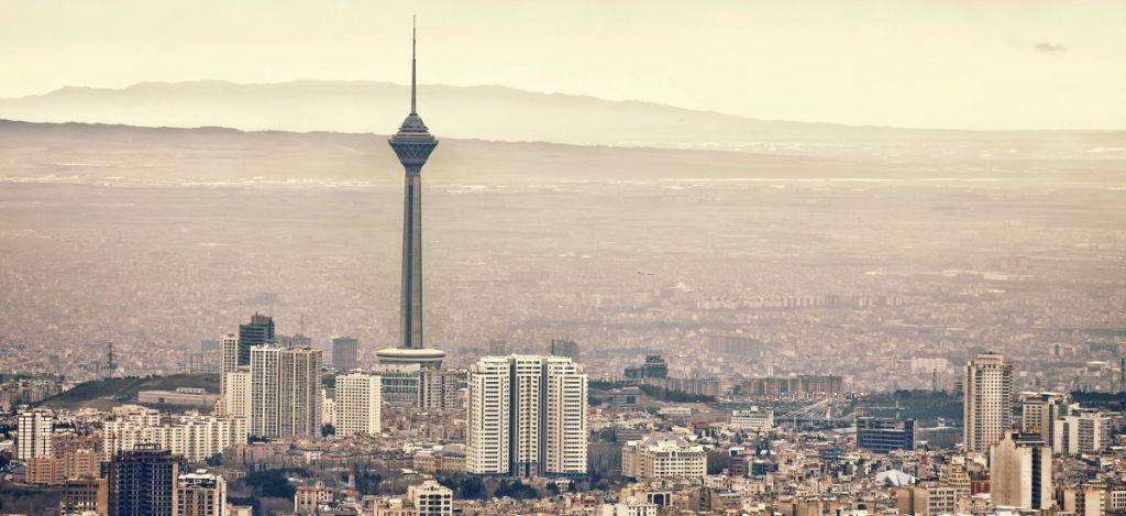 Tehran Iran Food Stands