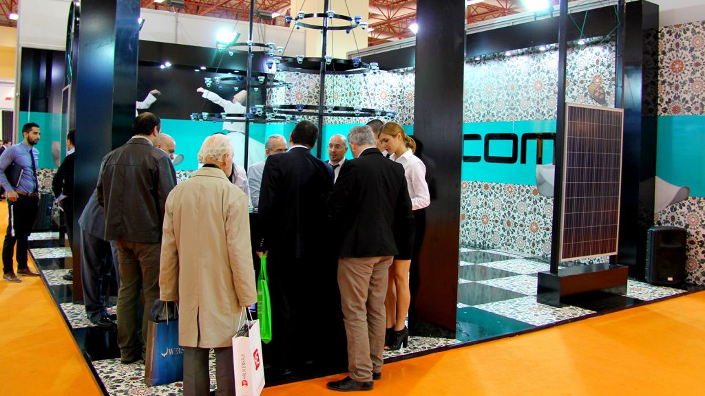 Solarex Istanbul Stands9