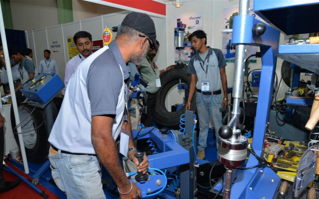 Exhibit At Tyrexpo India