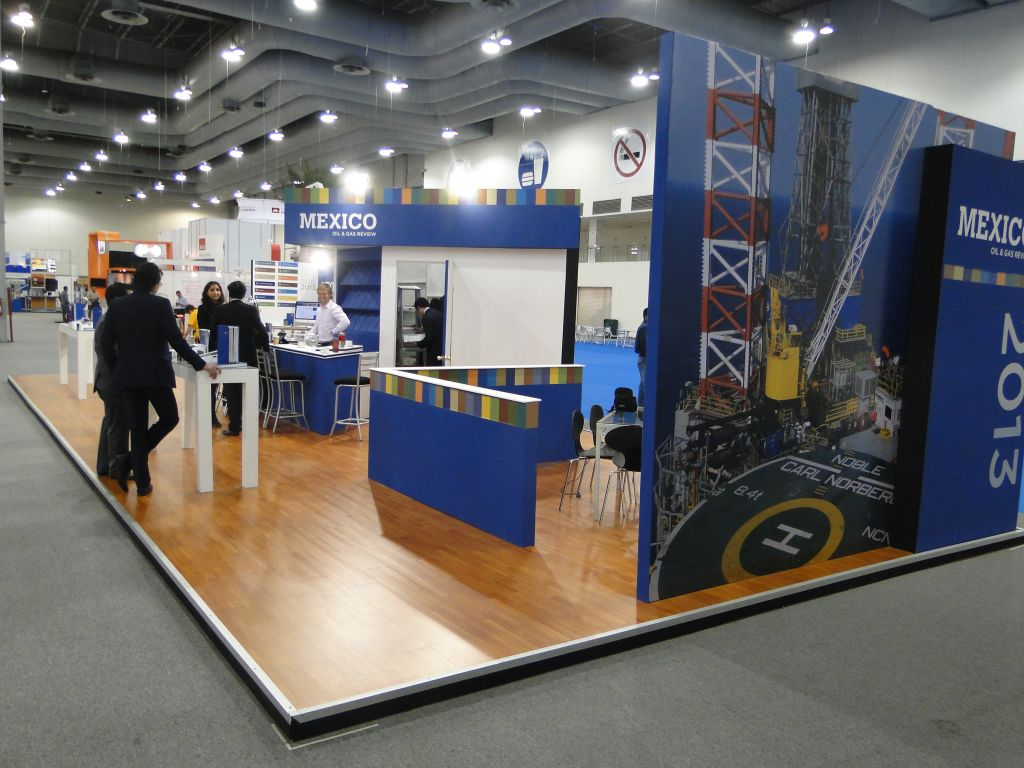 Cmp Mexico Stands