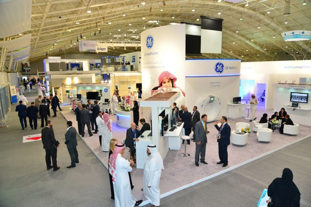 Saudi Health Riad Stands