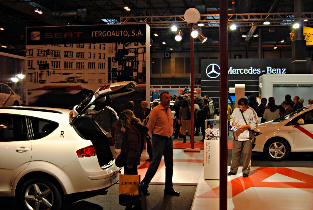 Feria Taxi Madrid Stands