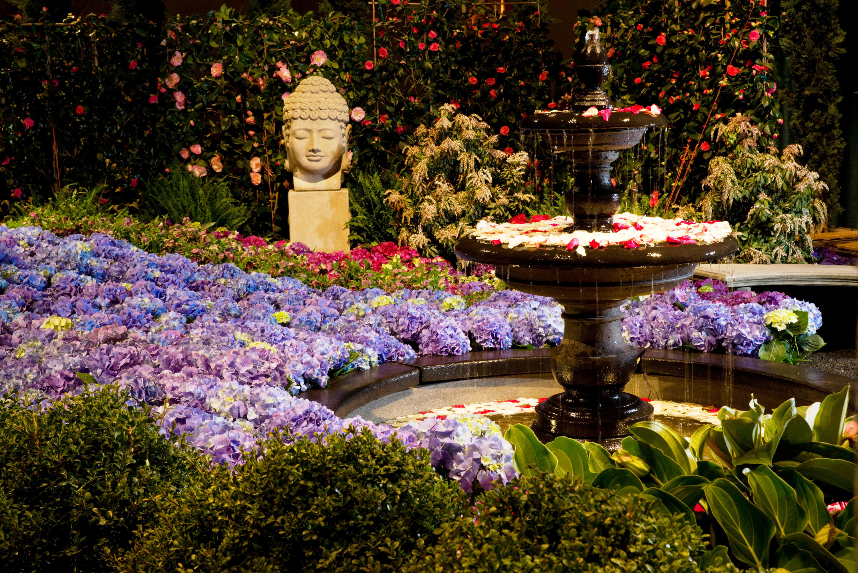 Chicago Flower Garden Stands0