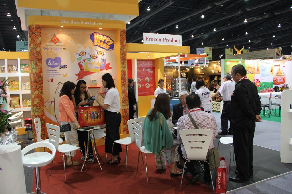 Food Asia Stands