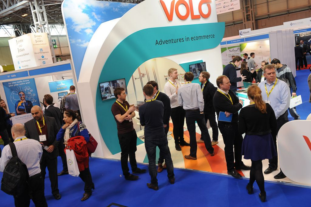 Internet Retailing Show Stand