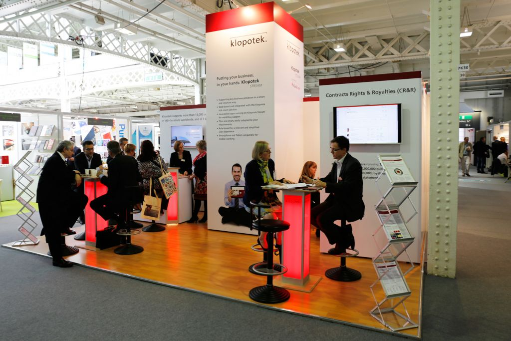 London Book Fair Stands Halls2