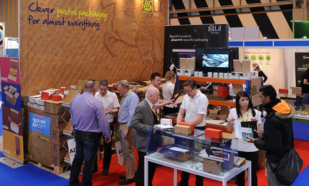 E Delivery Expo Stand