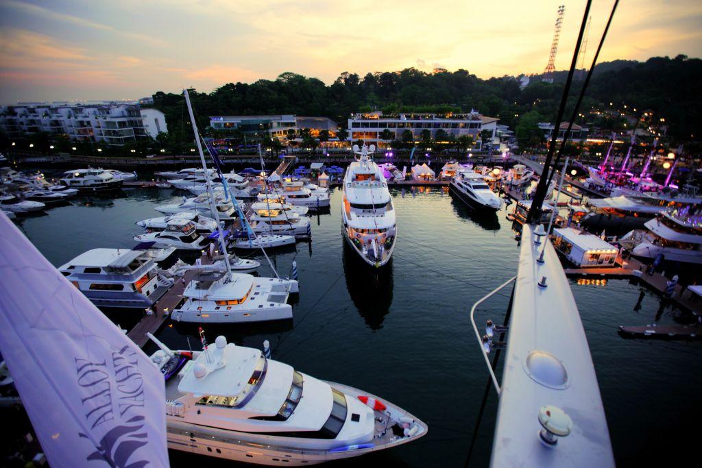 Yachtshow Singapore Halls