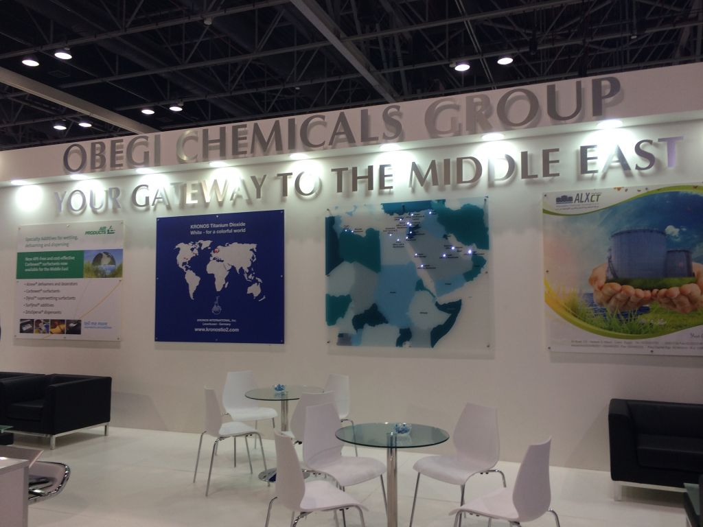 Middle East Coatings Show Stands 5
