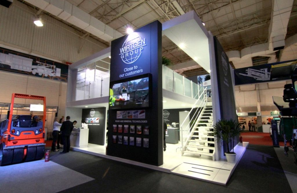 Brazil Road Expo Stands Halls
