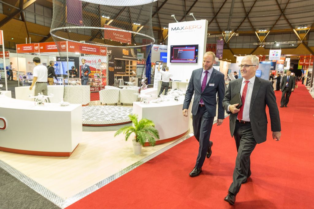 Cebit Australia Floor Stand Builder