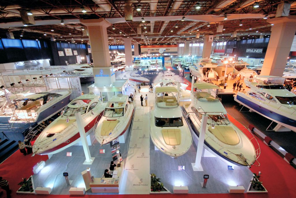 Eurasia Boat Show Stands